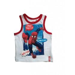 Tílko Spiderman bílé