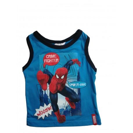 Tílko Spiderman modré